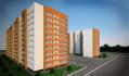 """Жилой комплекс  """"Молодежный-4"""" -  расположенный по ул. Ерохина, 27 - сдан!"""